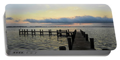 Pier Into Morning Portable Battery Charger
