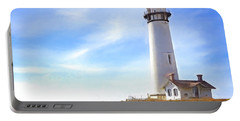 Pigeon Point Lighthouse Ca Portable Battery Charger