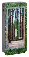 Pine Forest Tall Portable Battery Charger