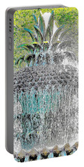 Pineapple Fountain Portable Battery Charger