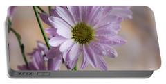 Pink Daisies-5 Portable Battery Charger