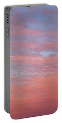 Pink In The Sky Portable Battery Charger