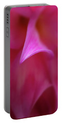 Portable Battery Charger featuring the photograph Pink Petals by Mary Jo Allen