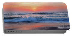 Pink Sunrise Panorama Portable Battery Charger