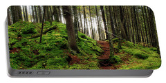 Pittsburg Fairytale Forest Panorama Portable Battery Charger