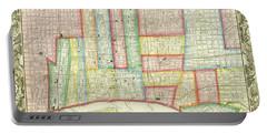 Plan Of Philadelphia, 1860 Portable Battery Charger