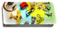 Play On Pop Art Portable Battery Charger