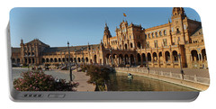 Plaza De Espana Bridge View Portable Battery Charger