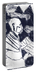 Poet Reading To Wind Clouds Otdv3 13 Portable Battery Charger