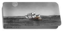 Point Reyes California Shipwreck Portable Battery Charger
