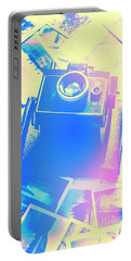 Polarised Pop Art Portable Battery Charger