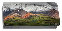 Polychrome Mountain, Denali Np, Alaska Portable Battery Charger