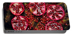 Pomegranate New Year Portable Battery Charger