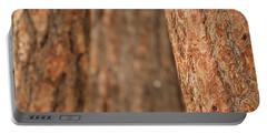 Ponderosa Pine Bark Detail Portable Battery Charger