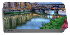 Ponte Vecchio Florence Italy Portable Battery Charger
