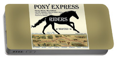 Pony Express Want Ad Portable Battery Charger