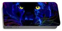 pOpCat Black Panther Portable Battery Charger