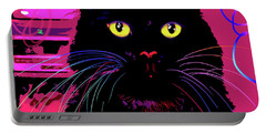 pOpCat Morticia Portable Battery Charger