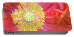 Poppy Closeup Portable Battery Charger