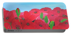 Poppy Parade Portable Battery Charger