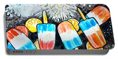 Popsicles And Fireworks Portable Battery Charger