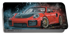 Porsche 911 Gt2 Portable Battery Charger