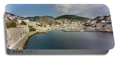 Port At Hydra Island Portable Battery Charger