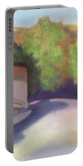 Port Costa Street In Bay Area Portable Battery Charger