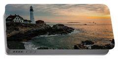 Portland Head Sunrise Final Portable Battery Charger