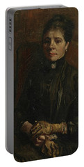 Portrait Of A Woman - 1 Portable Battery Charger