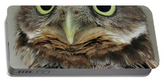Portrait Of Burrowing Owl Portable Battery Charger