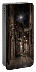 Postcards From Italy - Venice At Night Portable Battery Charger