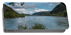Potomac River At Harper's Ferry Portable Battery Charger