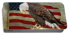 Pray For America Portable Battery Charger