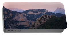Portable Battery Charger featuring the photograph Pre Pyrenees Sunset by Stephen Taylor