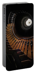 Pretty Brown Spiral Staircase Portable Battery Charger