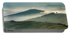 Pretty Morning In Toscany Portable Battery Charger