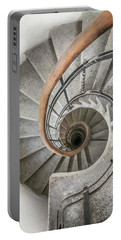 Pretty Stone Spiral Staircase Portable Battery Charger