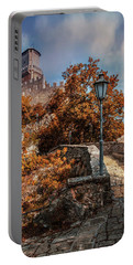 Pretty Sunny Afternoon In San Marino Portable Battery Charger