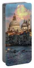 Pretty Sunrise In Venice Portable Battery Charger