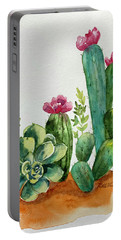 Prickly Cactus Portable Battery Charger