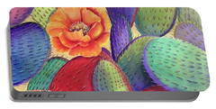 Prickly Rose Garden Portable Battery Charger