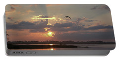 Portable Battery Charger featuring the photograph Prime Hook Sunrise 1 by Buddy Scott