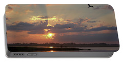 Portable Battery Charger featuring the photograph Prime Hook Sunrise 2 by Buddy Scott