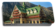 Prince Of Wales Hotel In Alberta Canada Portable Battery Charger