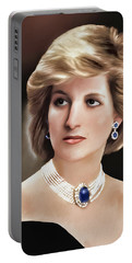 Princess Diana Portable Battery Charger