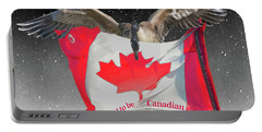 Proud To Be Canadian Portable Battery Charger