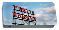 Public Market By Day Portable Battery Charger