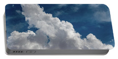 Puffy White Clouds Portable Battery Charger