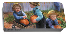 Pumpkin Boys Portable Battery Charger